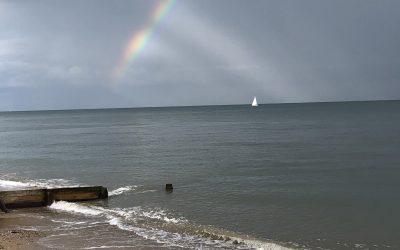 Rainy Days and Beach Huts